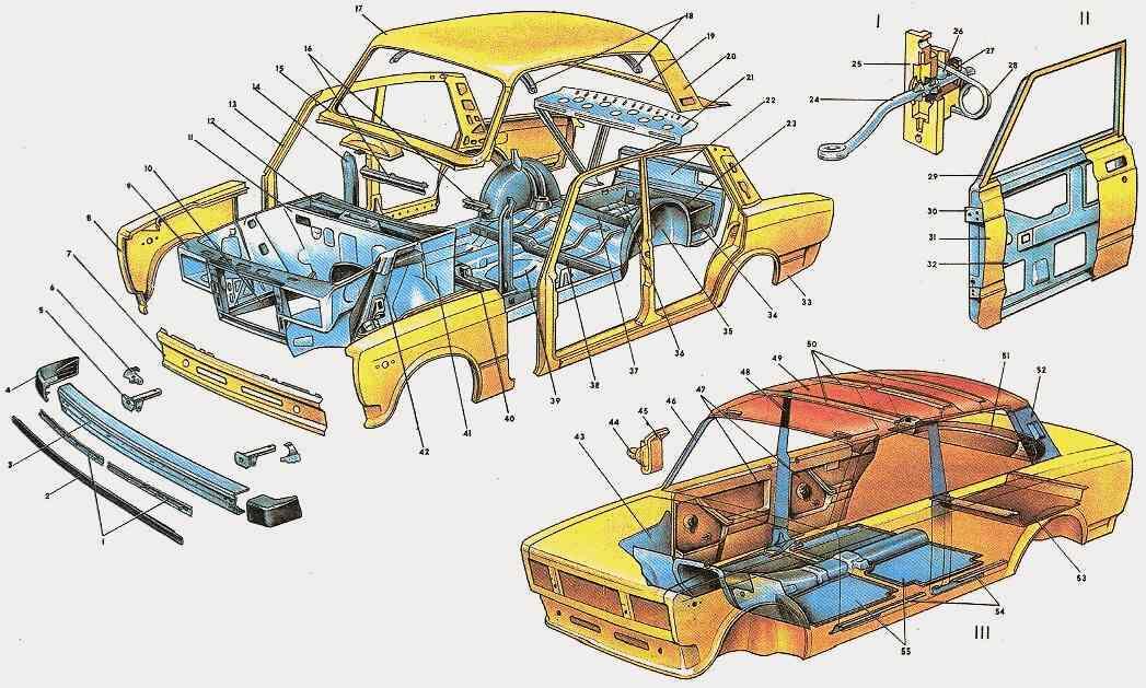 Автомобиль ВАЗ-2104.